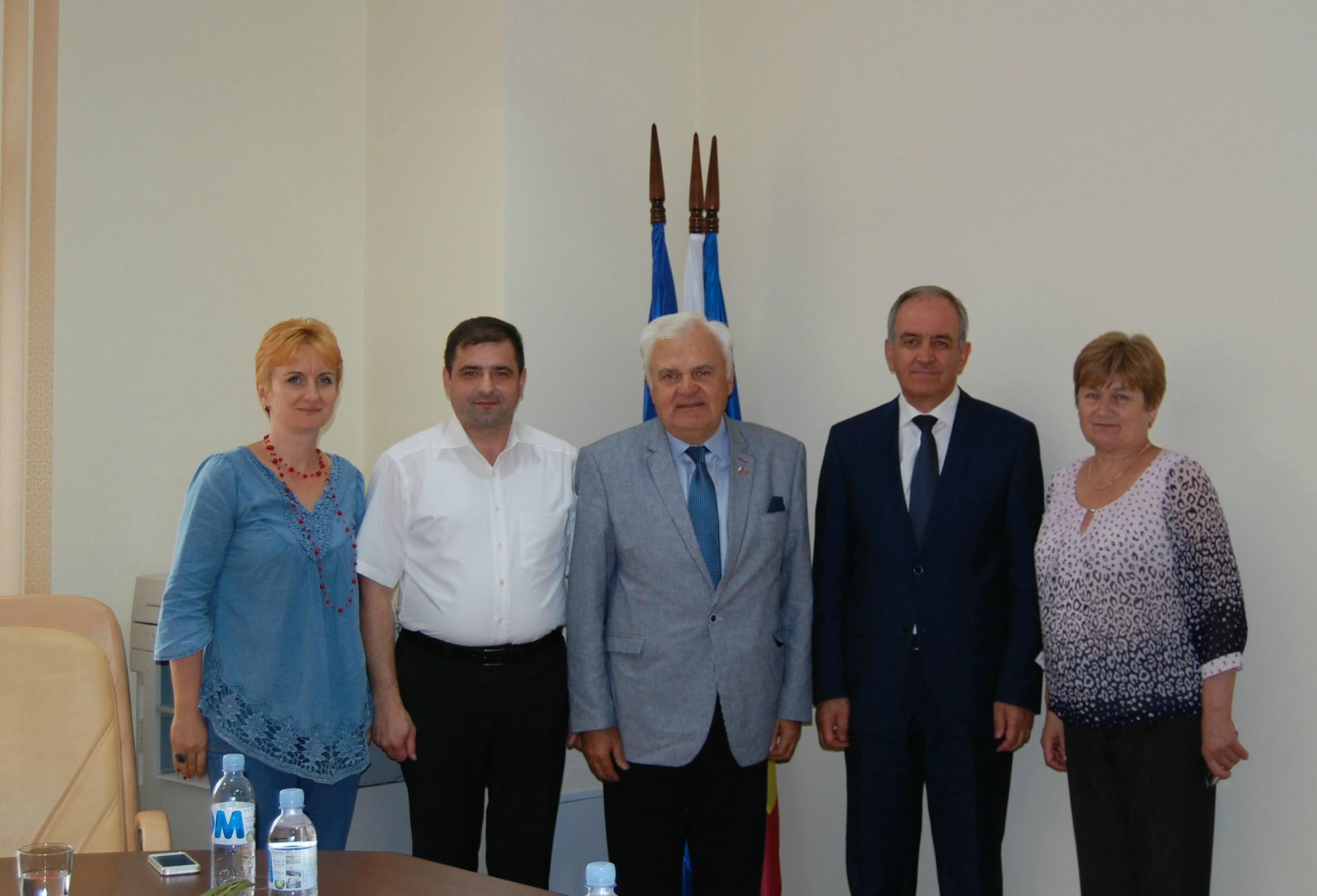 Vizită de lucru a oficialului polonez Leck Pilecki la CNAMUP