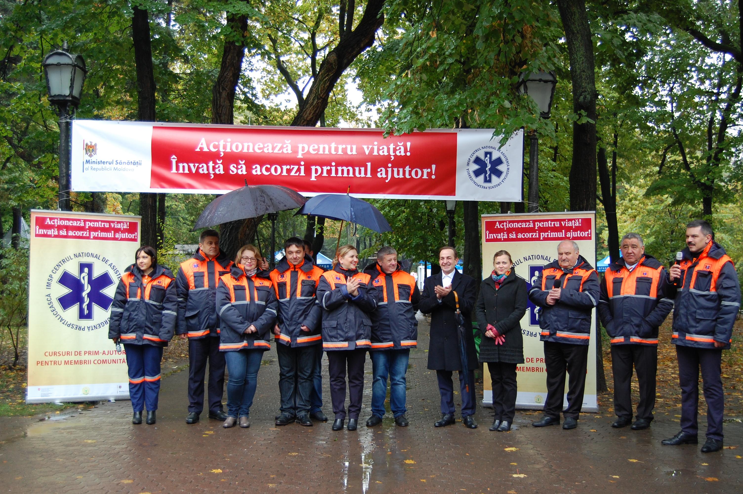 480 de persoane au fost instruite în acordarea primului ajutor