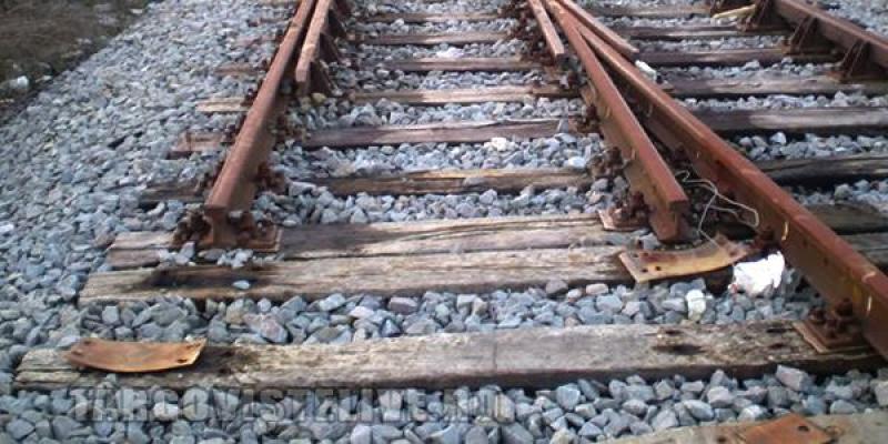 Grav accident pe calea ferată