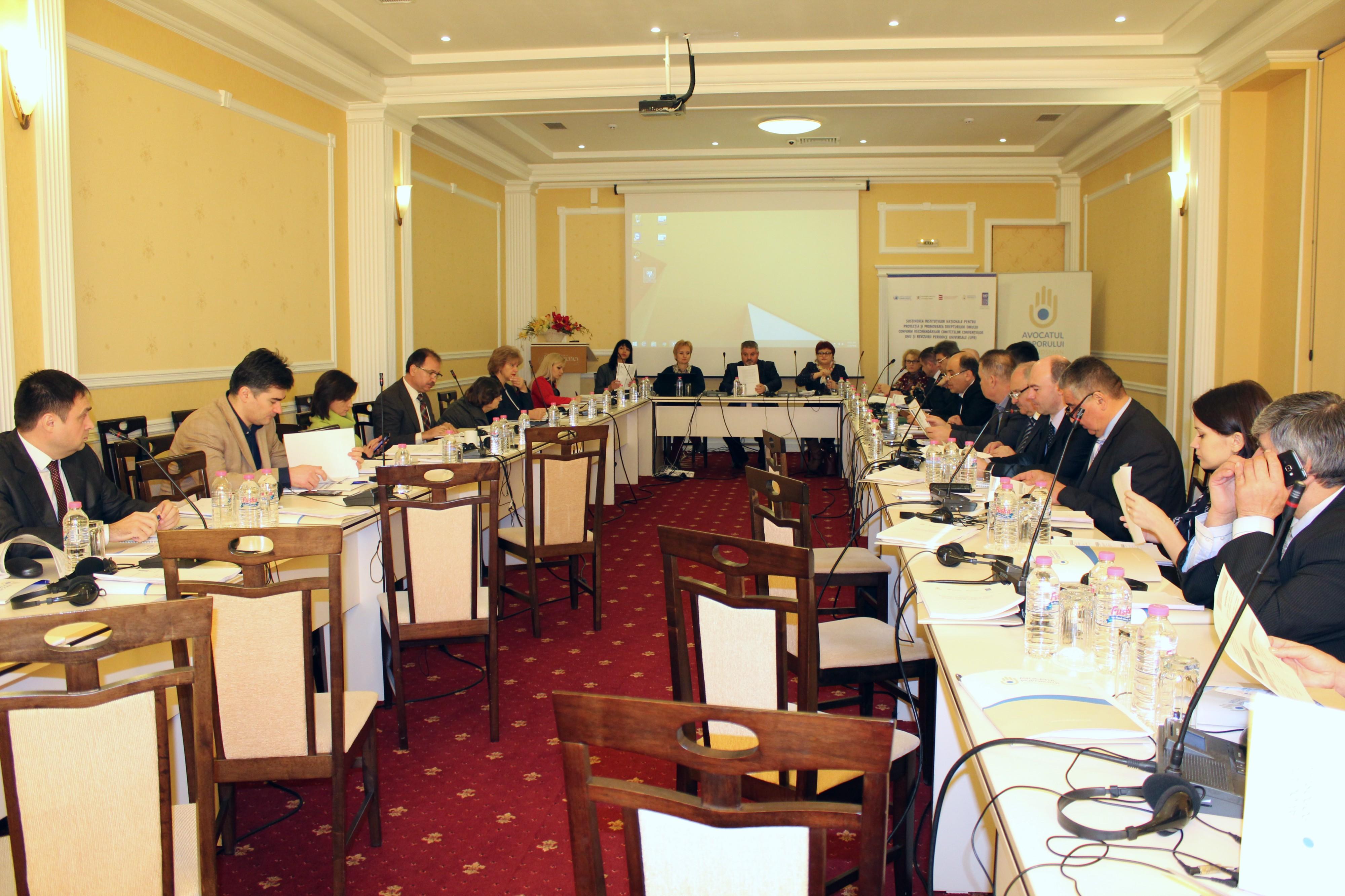 """Lansarea Studiului """"Respectarea drepturilor omului în prestarea serviciilor de asistență medicală urgentă prespitalicească din Republica Moldova"""""""