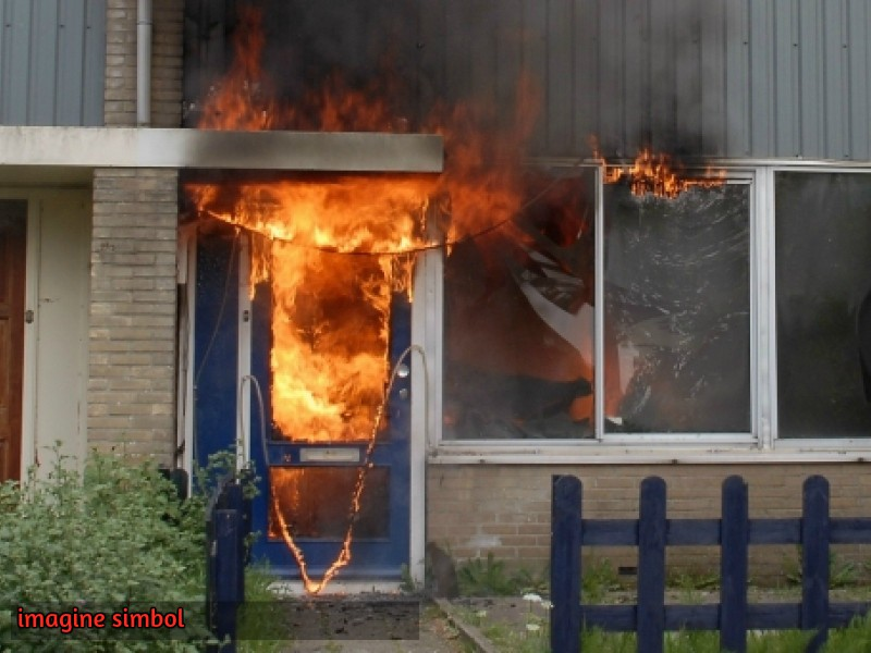 Incendiu în raionul Rîșcani