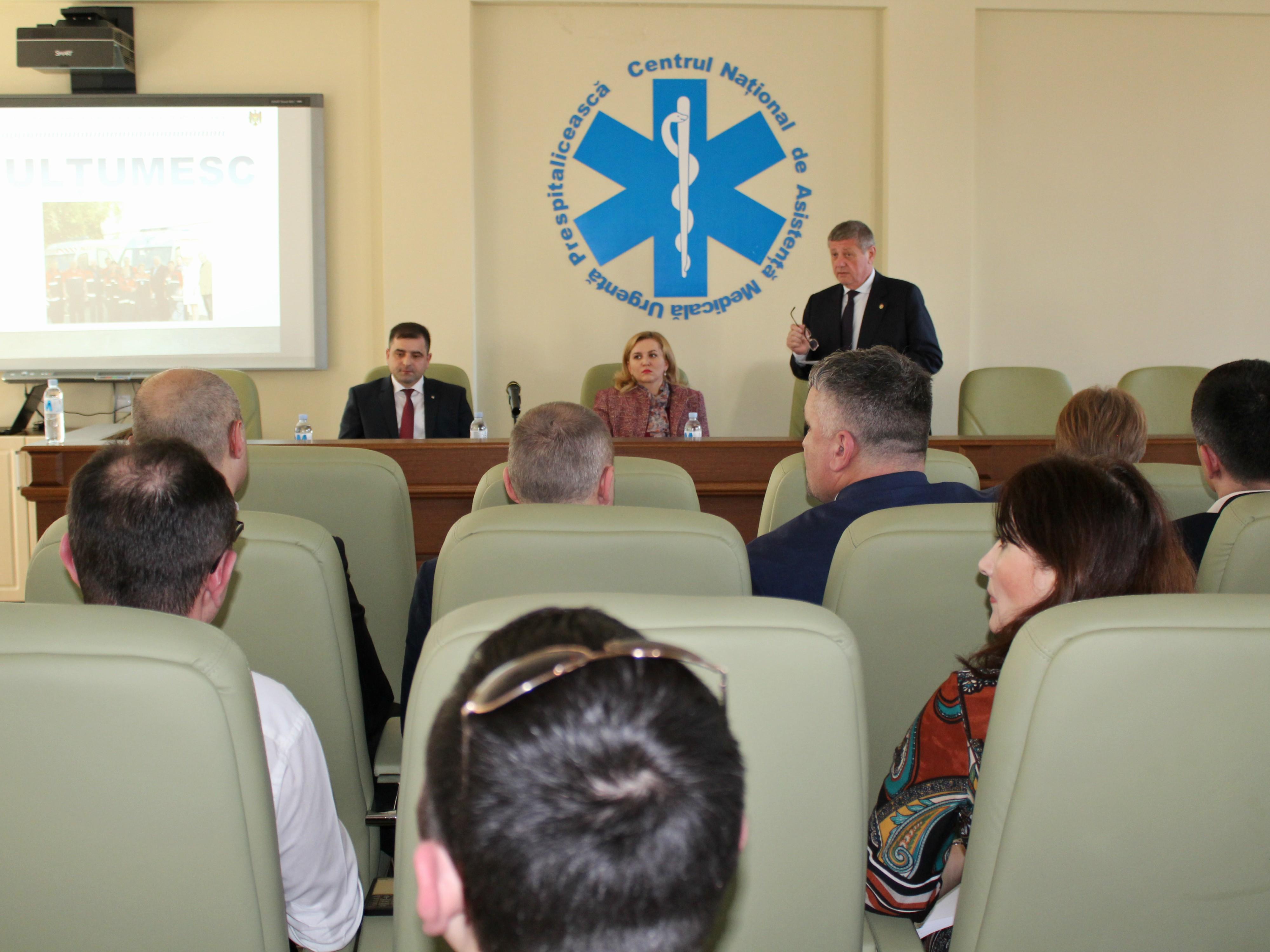 Sedința privind raportul de activitate pentru anul 2016