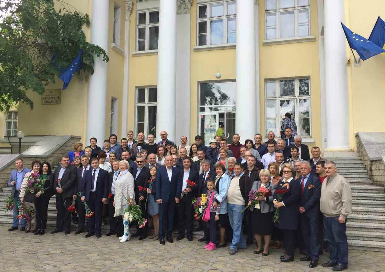 CNAMUP a participat la evenimentele de comemorare a victimelor războiului