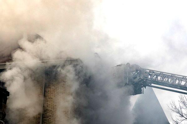 Incendiu în sectorul Botanica al capitalei