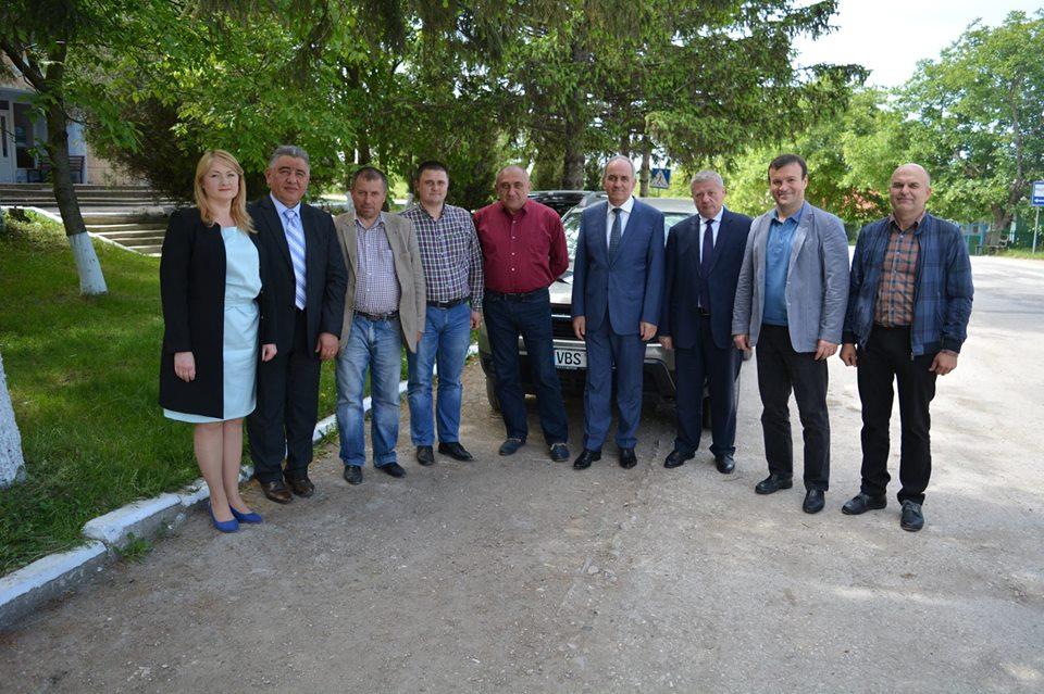 Un nou punct de asistență medicală urgentă in satul Fetești