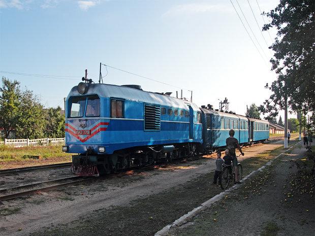 Un copil de 2 ani a fost accidentat de un tren