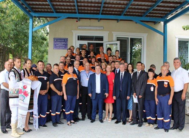 Colaboratorii Punctului AMU Volintiri s-au mutat în sediu nou, renovat conform ultimelor cerințe