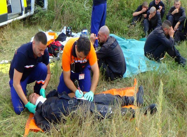 Cinci echipe de asistență medicală urgentă au participat la Exercițiul de amploare EUMOLDEX 2017