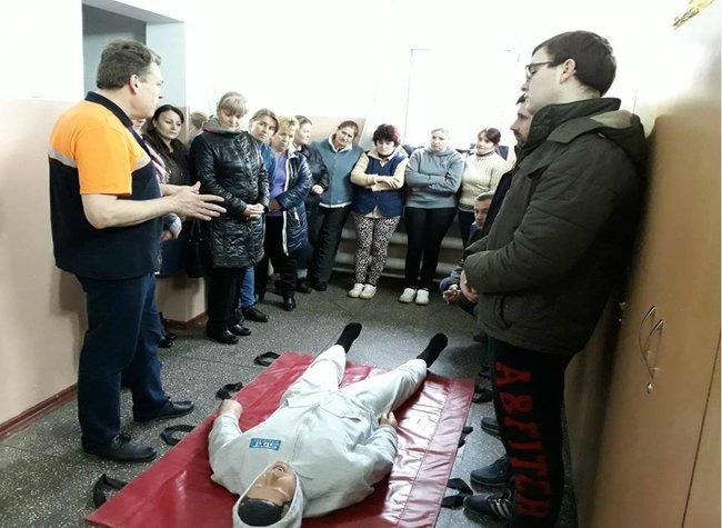 Training în acordarea primului ajutor medical cu angajații fabricii de înghețată Sandriliona