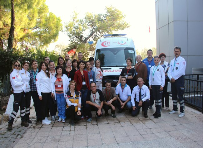 Schimb de experiență în Republica Turcia pentru medicii de urgență