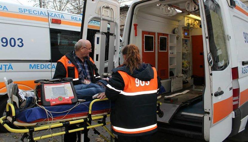 Intervenția echipelor de urgență în deservirea accidentelor rutiere produse în capitală