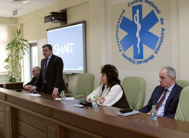 Ședință privind activitatea Serviciului AMU pentru anul 2017
