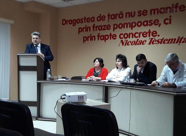 Raportul de activitate pentru anul 2017  în substațiile de asistență medicală urgentă Hîncești și Ialoveni