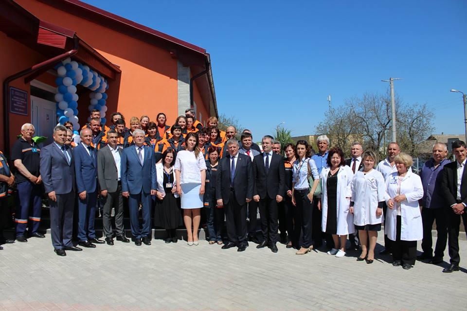 Un nou sediu modern al punctului de asistență medicală urgentă a fost inaugurat în localitatea Copanca, raionul Caușeni