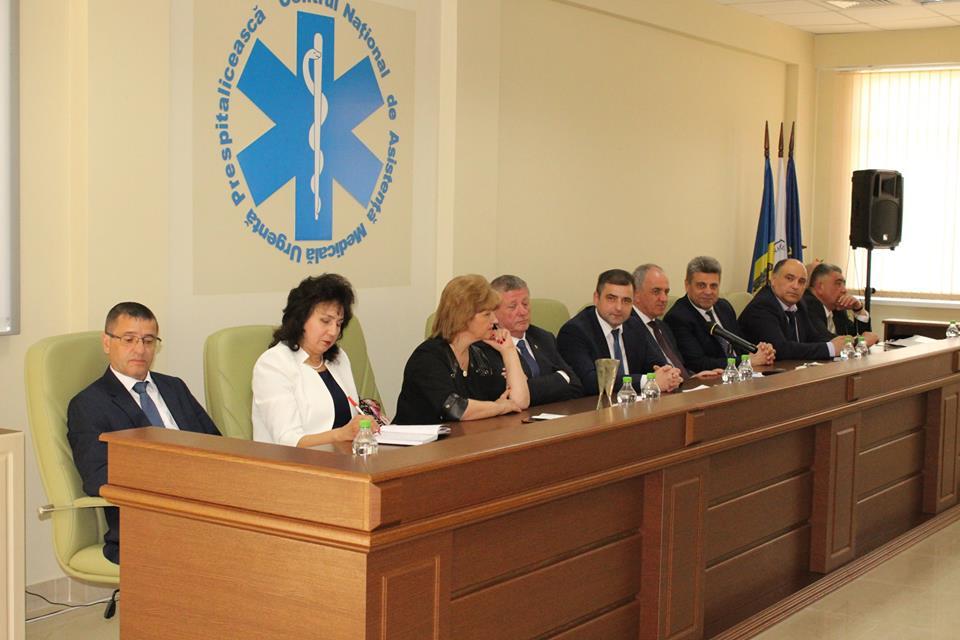Centrul Național de Asistență Medicală Urgentă Prespitalicească a prezentat raportul de activitate pe anul 2017