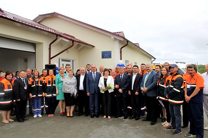 Un Punct nou de Asistență Medicală Urgentă în localitatea Brănești