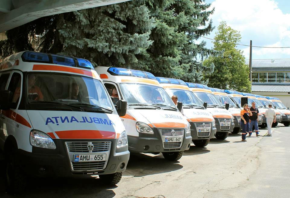 23 Ambulanțe noi pentru punctele de asistență medicala urgentă din țară