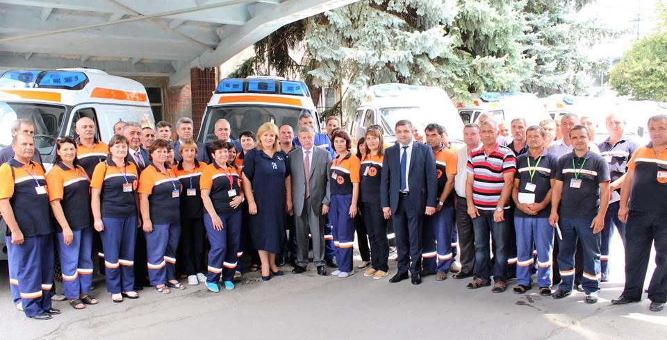 17 Puncte de Asistență Medicală Urgentă au primit ambulanțe noi