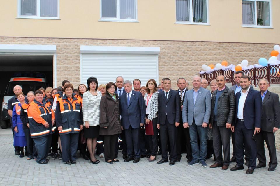 A fost inaugurat sediul renovat al Punctului AMUP Valea Perjei, Taraclia