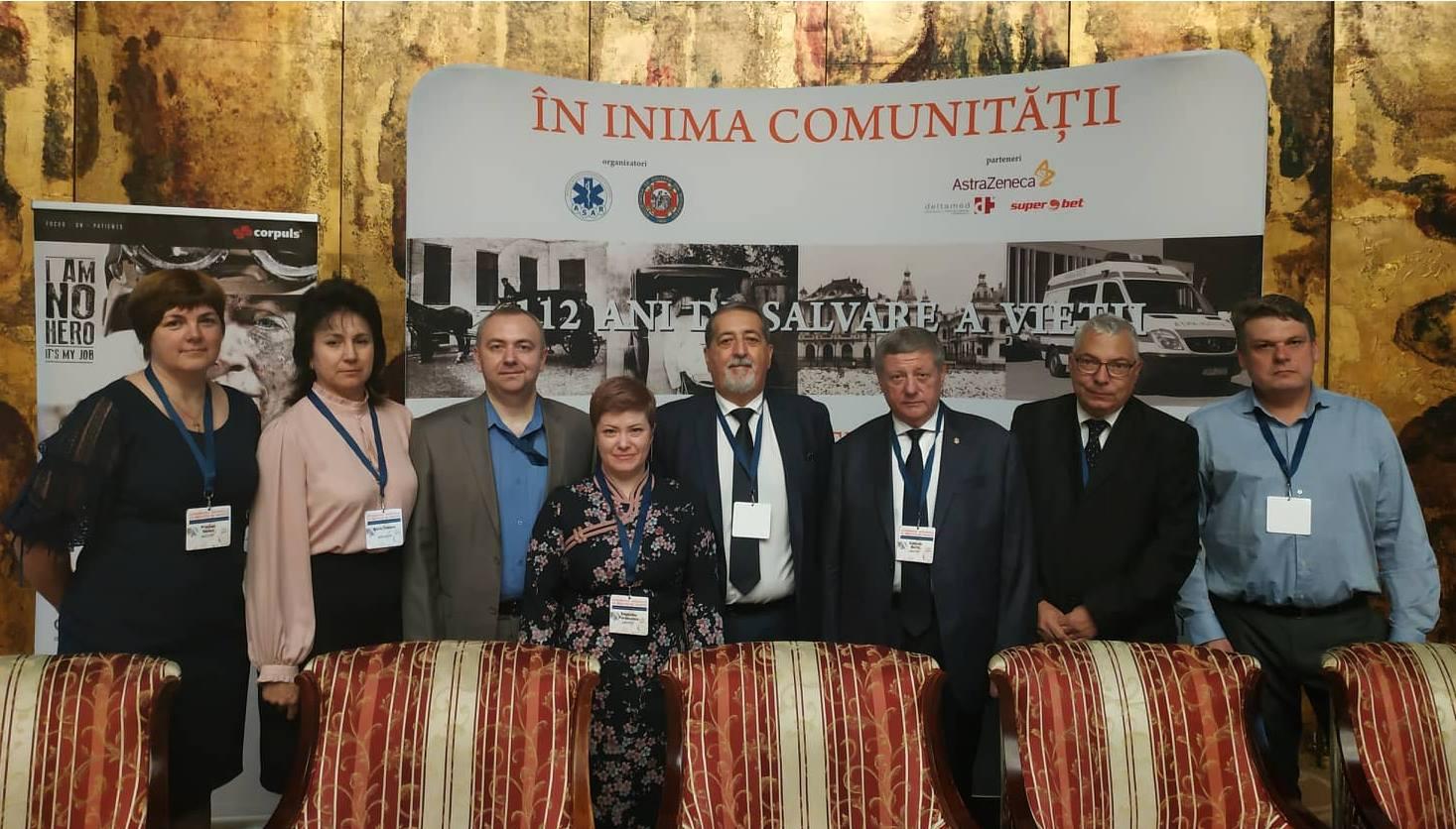 """Specialiștii IMSP CNAMUP au fost invitați să participle la Conferința Națională de Medicină de Urgență """"În inima comunității"""", ediția a XIX-a"""