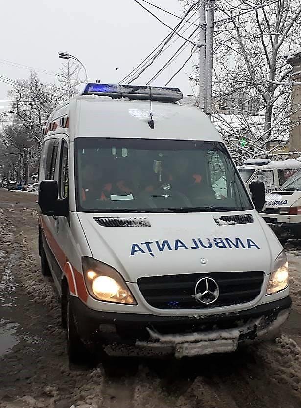 Asistența medicală de urgență acordată populației în perioada 4-8 ianuarie