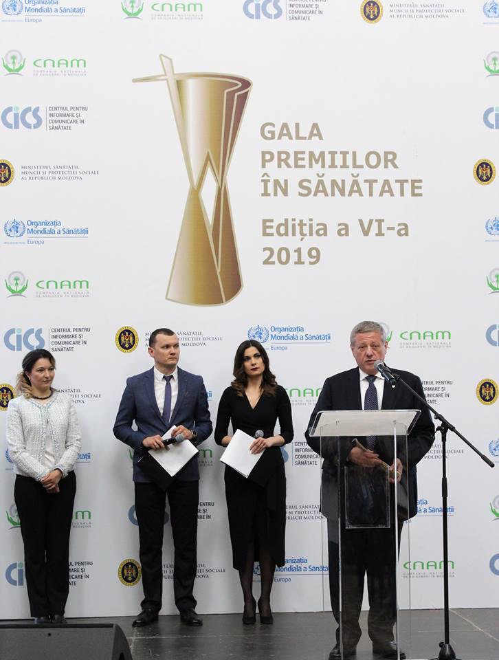 """""""Gala Premiilor în Sănătate 2019"""", ediția a VI-a"""