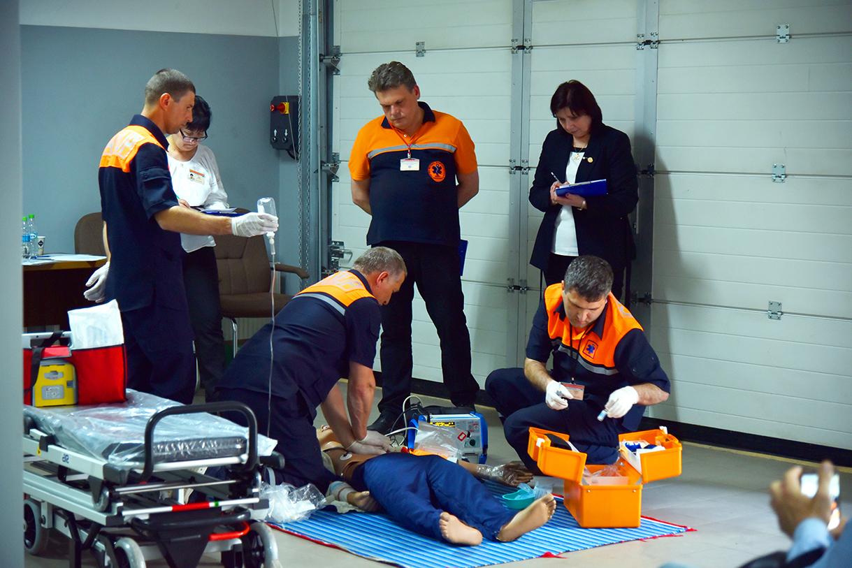 Concursul Național al echipelor de asistență medicală urgentă