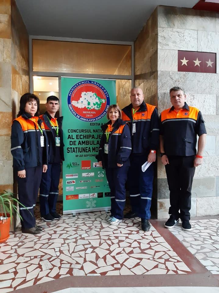 Participarea echipei CNAMUP la Concursul Naţional al Echipajelor de Ambulanţă 2019 stațiunea Moneasa