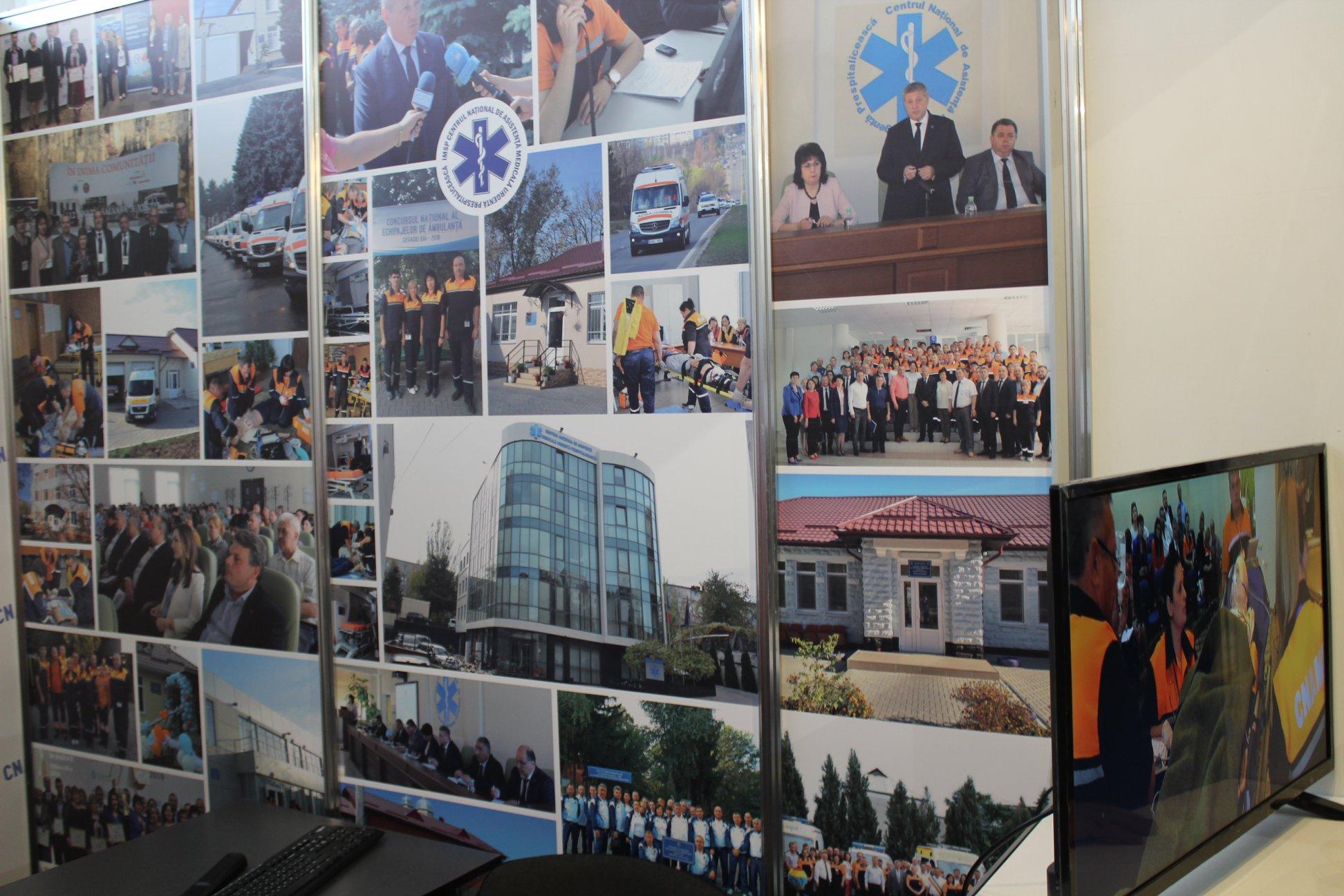 Participarea Centrului Național de Asistență Medicală Urgentă Prespitalicească la expoziția MoldMedizin & MoldDent