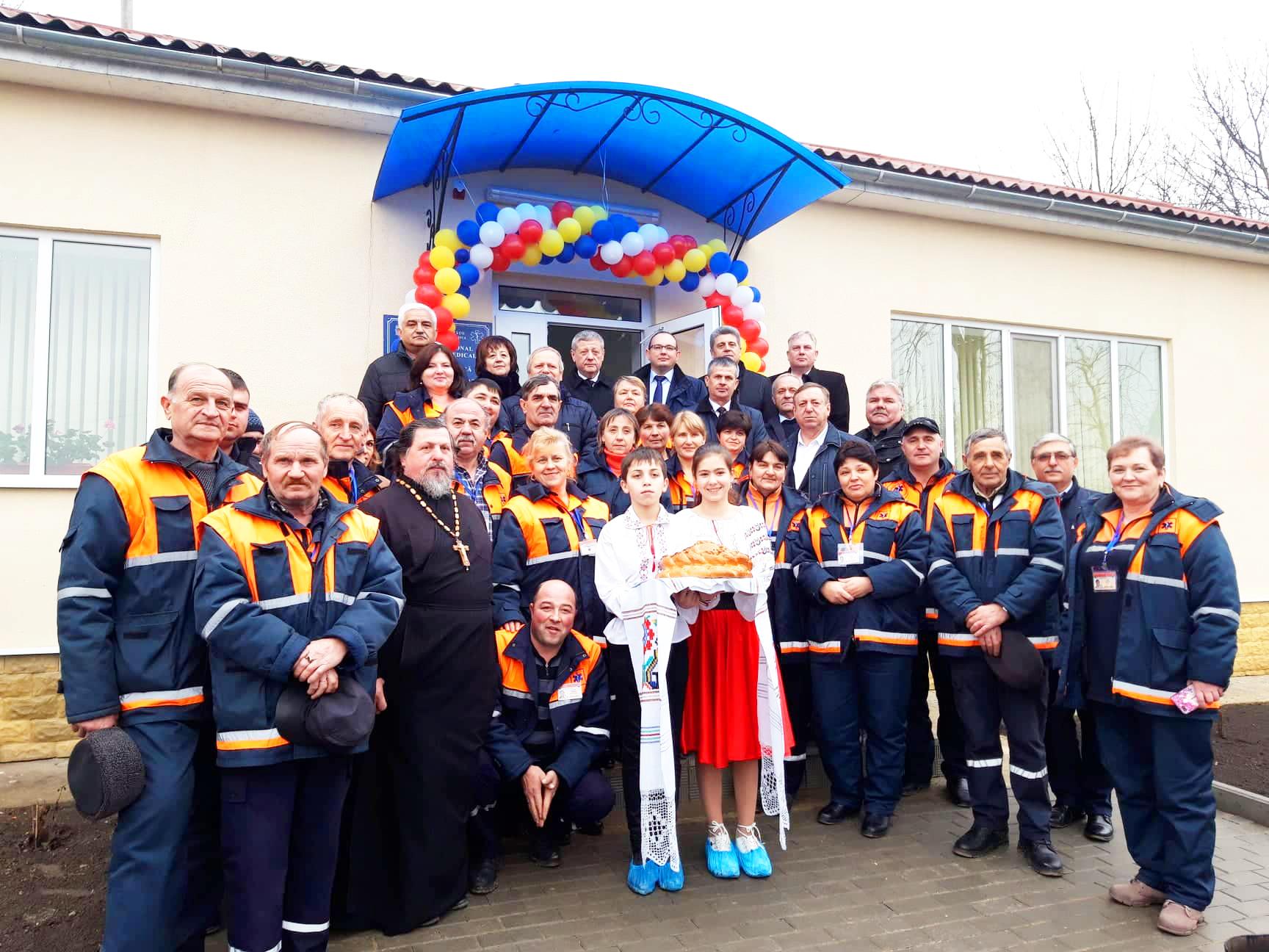 Deschiderea Punctului asistență medicală urgentă Cotiujenii Mari, Şoldăneşti