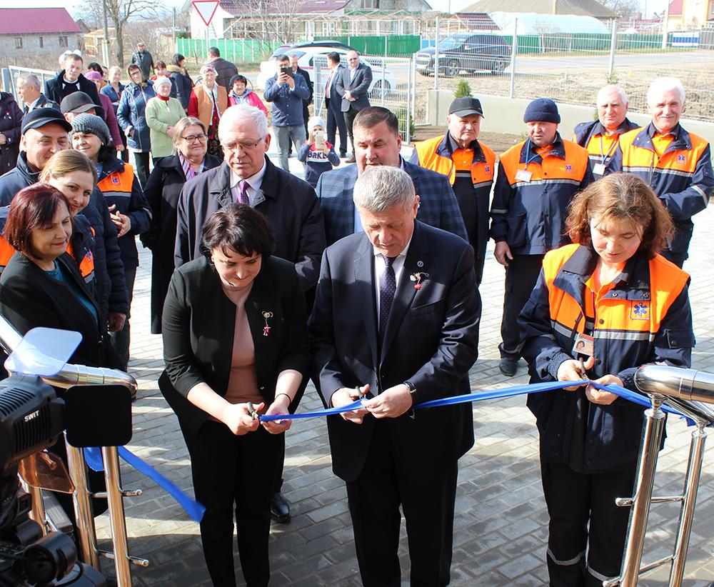 Deschiderea oficială PAMU Gotești, raionul Cantemir