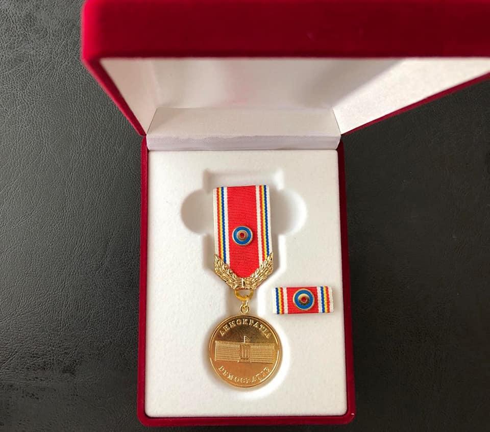 Medalia Democrației pentru colectivul IMSP Centrul Național de Asistență Medicală Urgență Prespitalicească