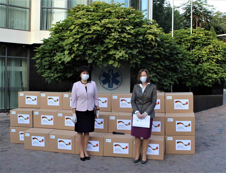 Donație din partea Ambasadei Germaniei