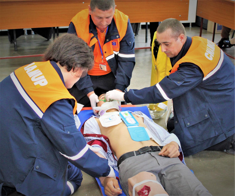Asistența medicală de urgență acordată populației în perioada  5 – 11 octombrie
