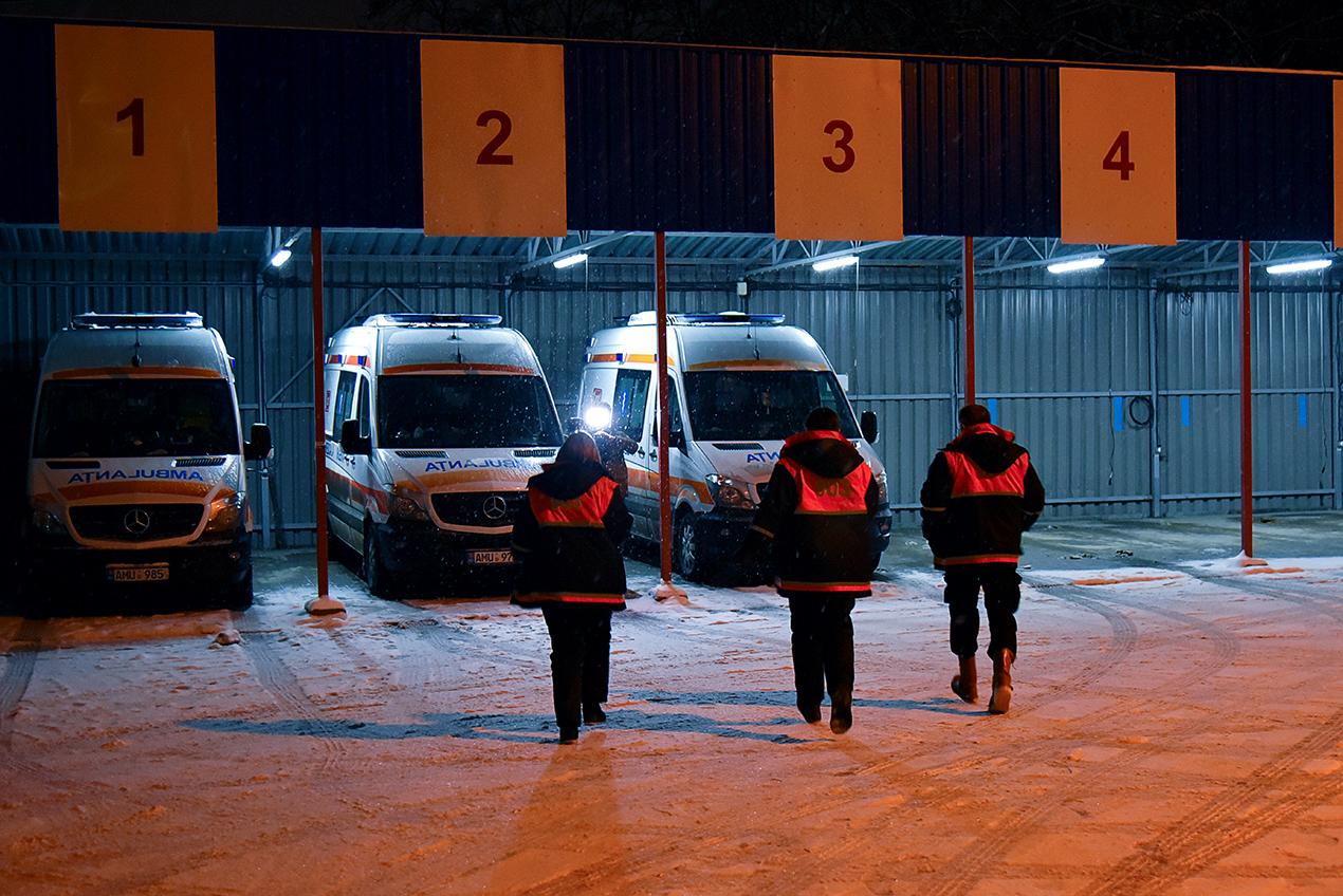 Solicitările deservite de echipele AMU în perioada 08 – 14 februarie