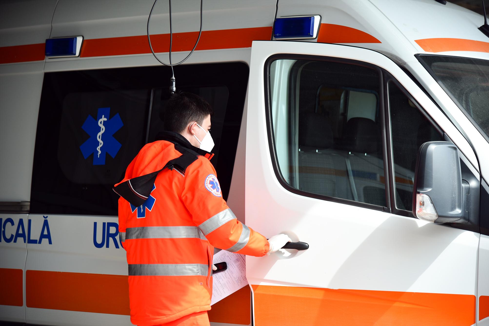 Intervențiile ambulanței de Paștele Blajinilor
