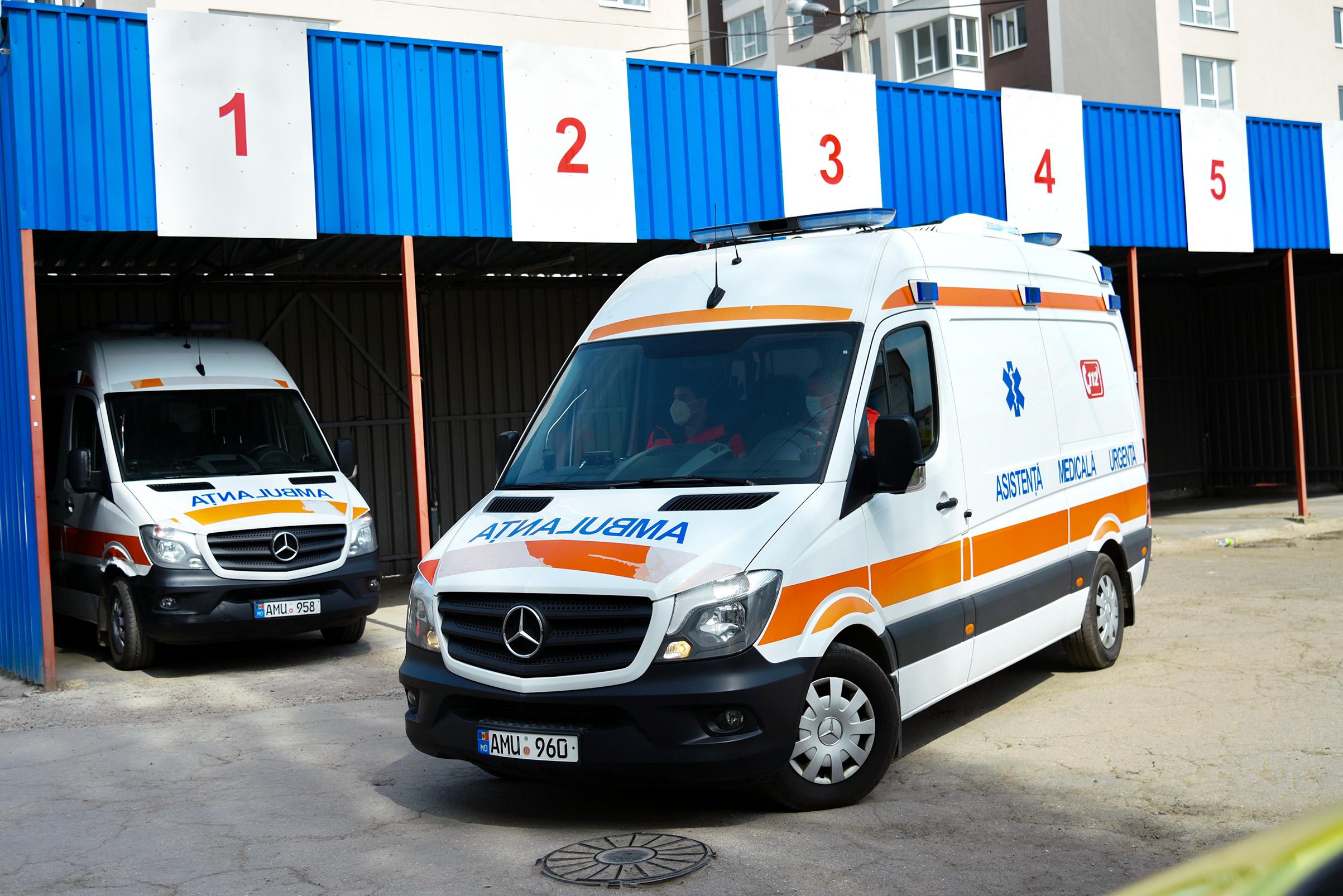 Activitatea Serviciului de Asistență Medicală Urgentă Prespitalicească  în perioada 17 – 23 mai