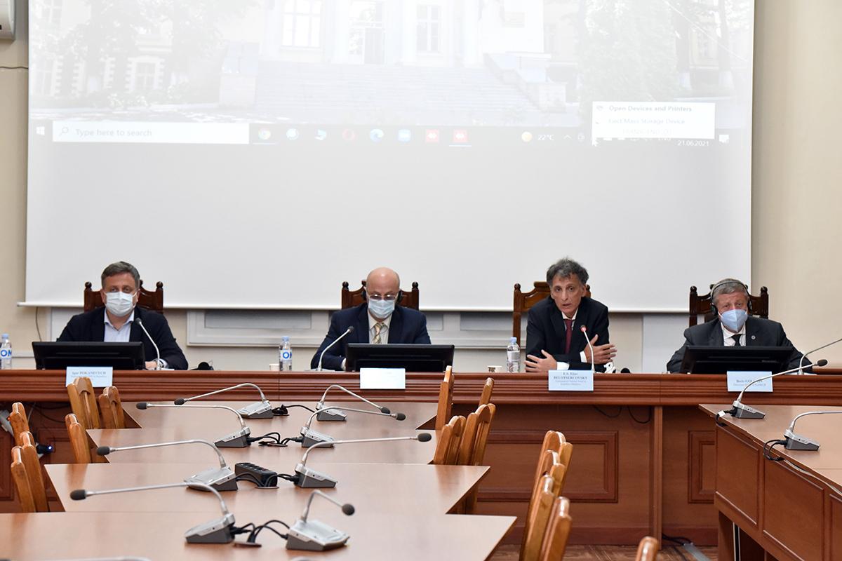 Prioritățile de dezvoltare a Asistenței Medicale Urgente discutate astăzi în cadrul conferinței de presă organizate la Ministerul Sănătății, Muncii și Protecției Sociale