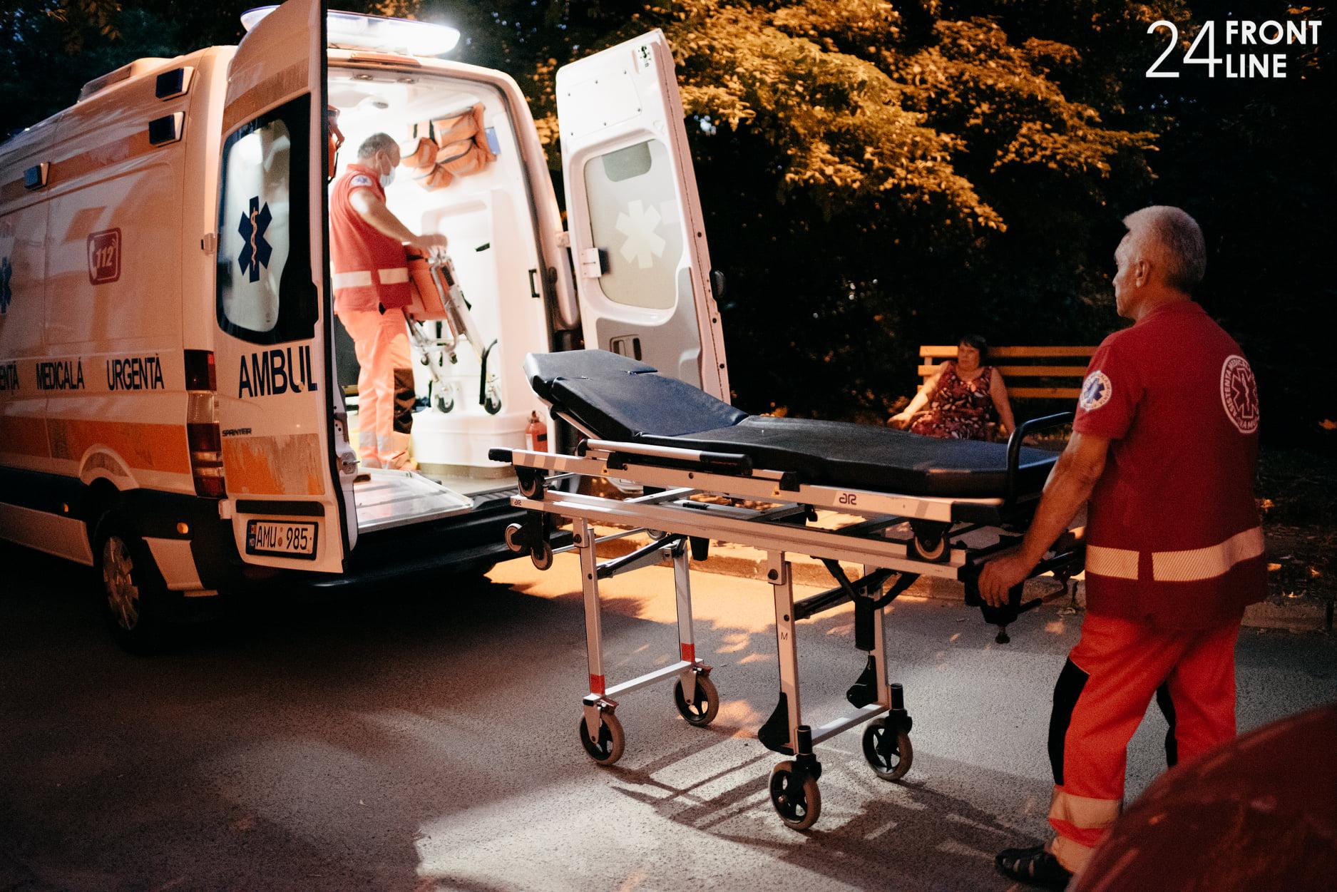 Asistența medicală de urgență acordată populației în perioada 2-8 august